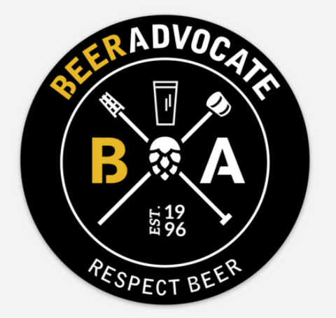 BeerAdvocate Sticker