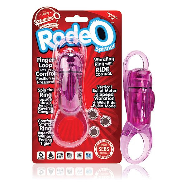 Rodéo Spinner Violet The Screaming O SCRS-PU-110