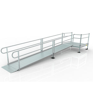 The Advantages of Powder Coating Ramps and Railings