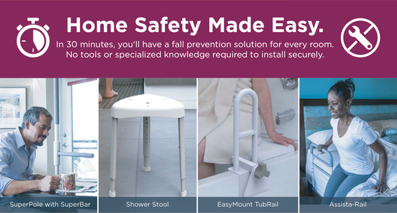 Introducing the new home safety kit... Purchase one now!
