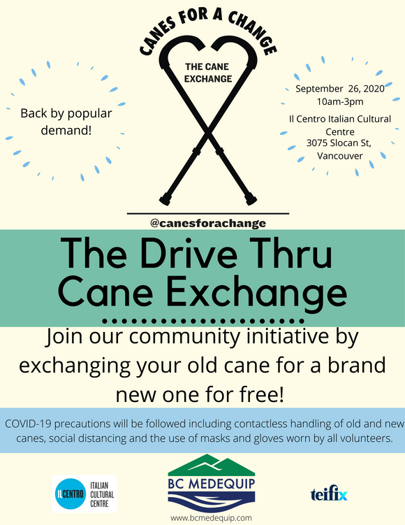 Canes for a Change - Drive Thru Cane Exchange