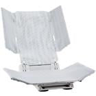 Aquatec SRB, Special Reclining Backrest - White - BC MedEquip Home Health Care
