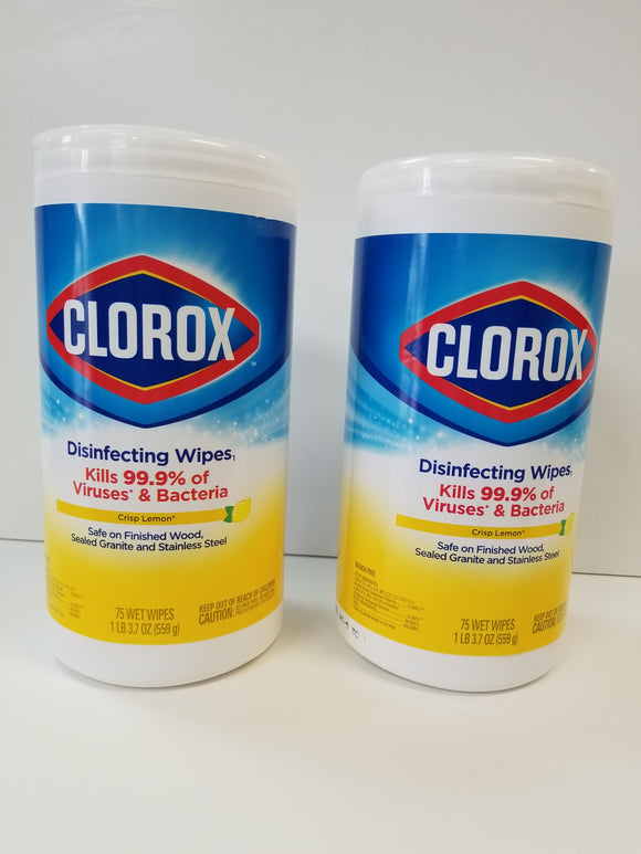 Clorox Disinfecting Wipes - BC MedEquip Home Health Care