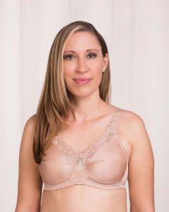 Trulife Naturalwear 210 Barbara Lace Accent Softcup Bra - BC MedEquip Home Health Care
