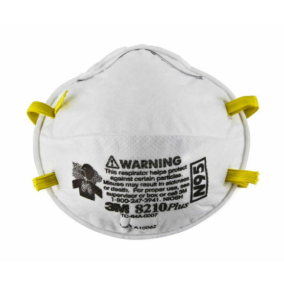 N95 Mask 3M™ Particulate Respirator 8210**CURRENTLY NOT AVAILABLE DUE TO COVID 19 - BC MedEquip