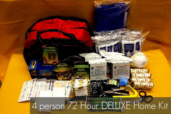 4 Person 72 hour Survival Kit - BC MedEquip Home Health Care