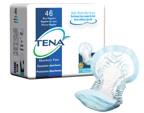 TENA® Day Regular Breathable Pad - BC MedEquip Home Health Care