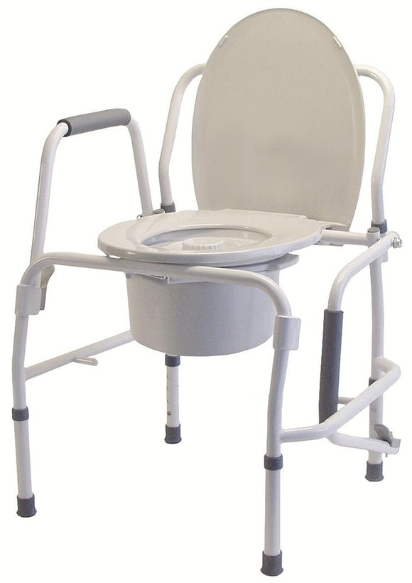 Rental Drop Arm Commode...starting at $125/month*must purchase bucket/splashguard - BC MedEquip