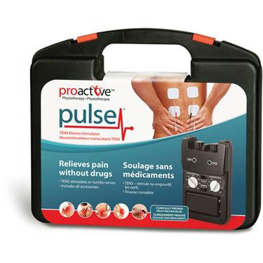 TENS Electro Stimulator Device Pulse™ by ProActive™ 715-420 - BC MedEquip Home Health Care