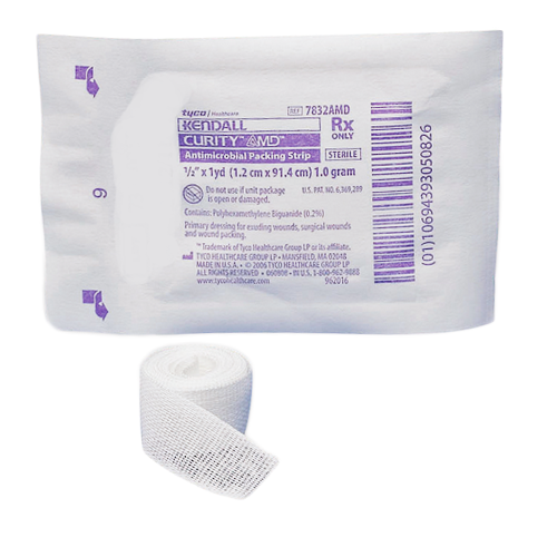 Curity AMD Antimicrobial Packing Strips - BC MedEquip Home Health Care