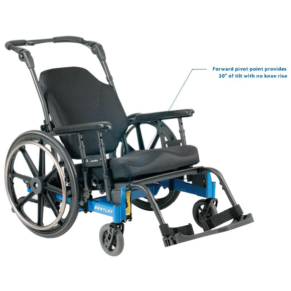 Bentley Manual Tilt-In-Space Wheelchair - BC MedEquip Home Health Care