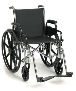 Breezy® EC 4000 High-Strength Lightweight Wheelchair - BC MedEquip Home Health Care
