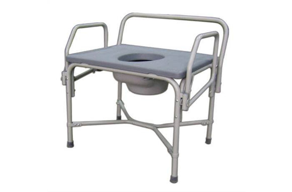 Commode - steel HD - BC MedEquip Home Health Care