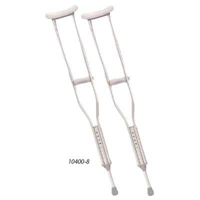 CRUTCHES, ALUMINUM ADJUSTABLE ADULT - BC MedEquip Home Health Care