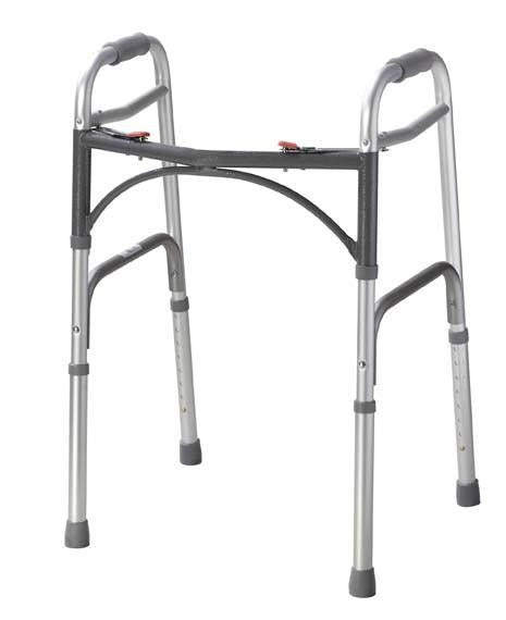 Deluxe Folding Walker, Two Button - BC MedEquip Home Health Care