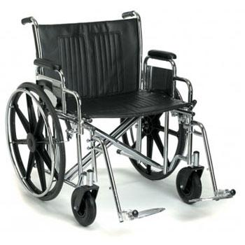 Breezy® EC 2000HD Heavy-Duty and Extra Wide Wheelchair - BC MedEquip Home Health Care