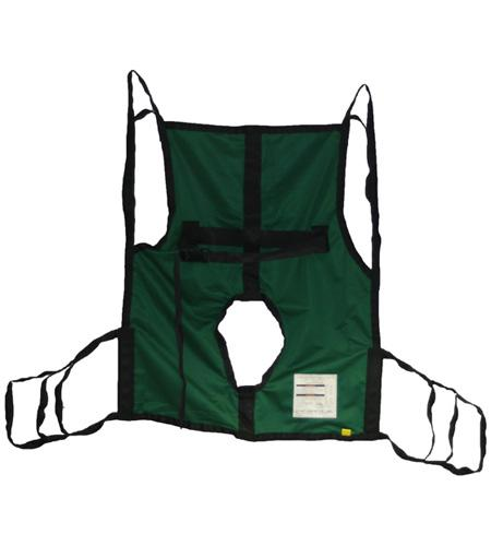 Hoyer® One Piece Commode Sling with Positioning Strap - BC MedEquip Home Health Care
