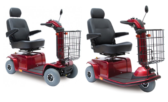 Rental Pride Mobility Celebrity® DX & LR Scooter - BC MedEquip Home Health Care