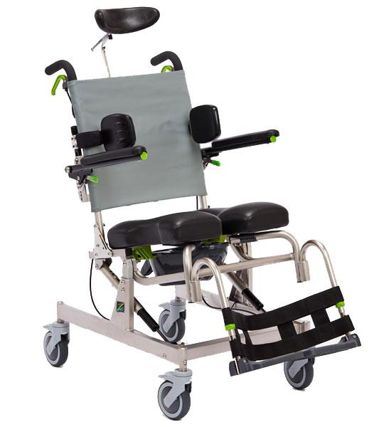 Raz-AT (attendant tilt) Mobile Shower Commode Chairs - BC MedEquip Home Health Care
