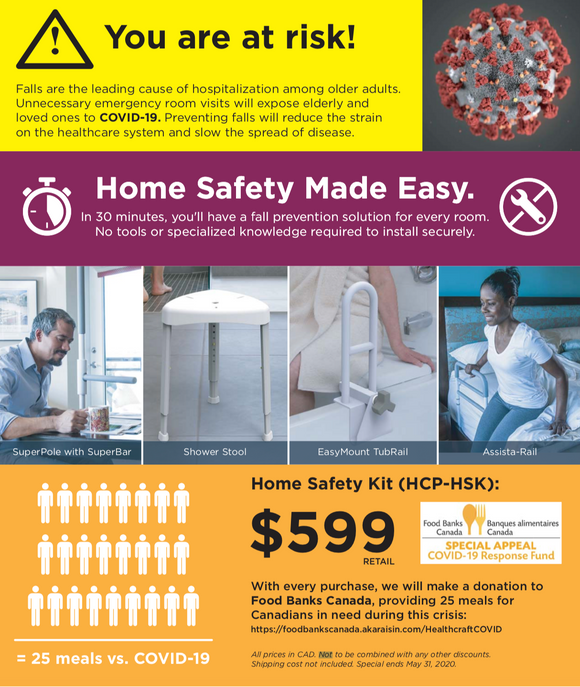 New Home Safety Kit! Call to Order! - BC MedEquip Home Health Care