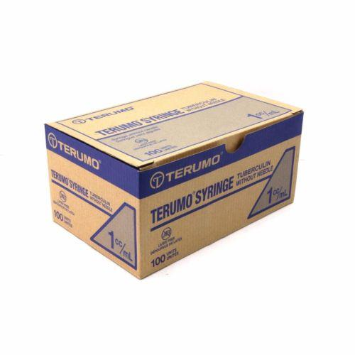 Terumo-Tuberculin Syringe - 1cc Luer Slip Tip, NO Needle - BC MedEquip Home Health Care