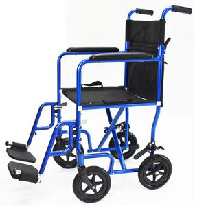 "Rental The Great Aluminum Transport Chair, 18"" - BC MedEquip Home Health Care"