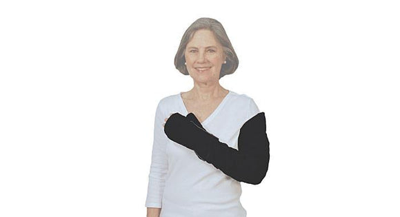Tribure - Wrist to Axilla with Glove – Vertical and Chevron Channels- Pls call for Pricing - BC MedEquip Home Health Care