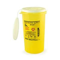 BD Sharps Collector, Nestable, Yellow Base - BC MedEquip Home Health Care