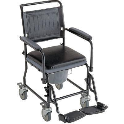 Glide About Commode with Four Locking Casters - BC MedEquip Home Health Care