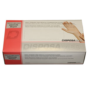 Vinyl Powder Free Examination Gloves 100/box *manufacturer subject to change without notice - BC MedEquip