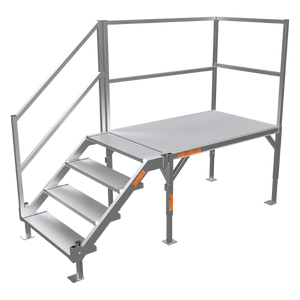 EZ-Access FORTRESS® OSHA Stair System- Please call for a free onsite assessment - BC MedEquip Home Health Care