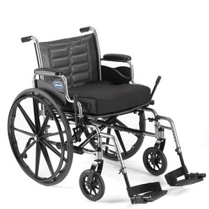 "Invacare Tracer IV Wheelchair with Full-Length Arms, 24""x18"" - BC MedEquip Home Health Care"
