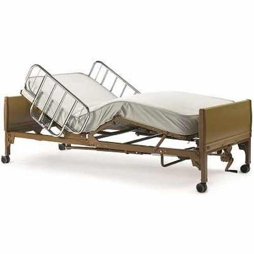 Rental Full Electric Hospital Bed with half rails ...starting at $175/month - BC MedEquip
