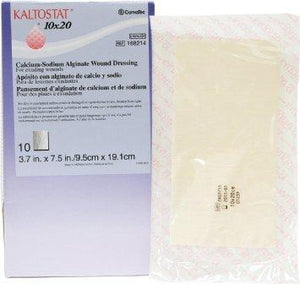 KALTOSTAT® Calcium Alginate Wound Dressing, Sterile 10cm x 19cm 10/box - BC MedEquip Home Health Care