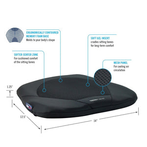 Obusforme Gel Seat - BC MedEquip Home Health Care