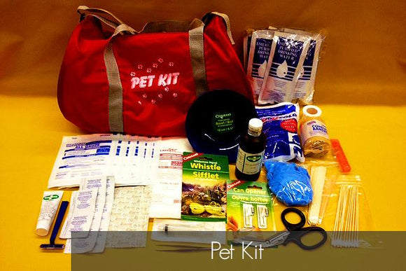 Pet Survival First Aid Kit - BC MedEquip Home Health Care