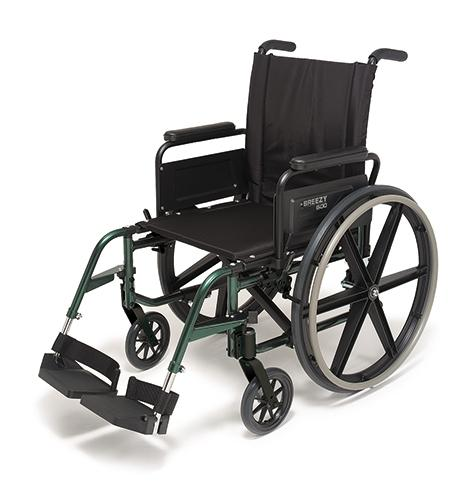 Quickie Breezy 600 Lightweight Standard - BC MedEquip Home Health Care