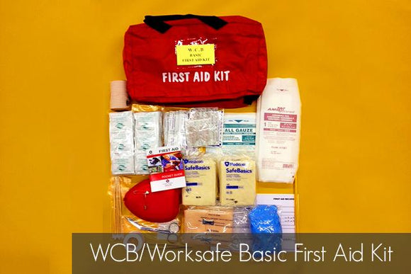 WCB/Worksafe Basic First Aid Kit - BC MedEquip Home Health Care