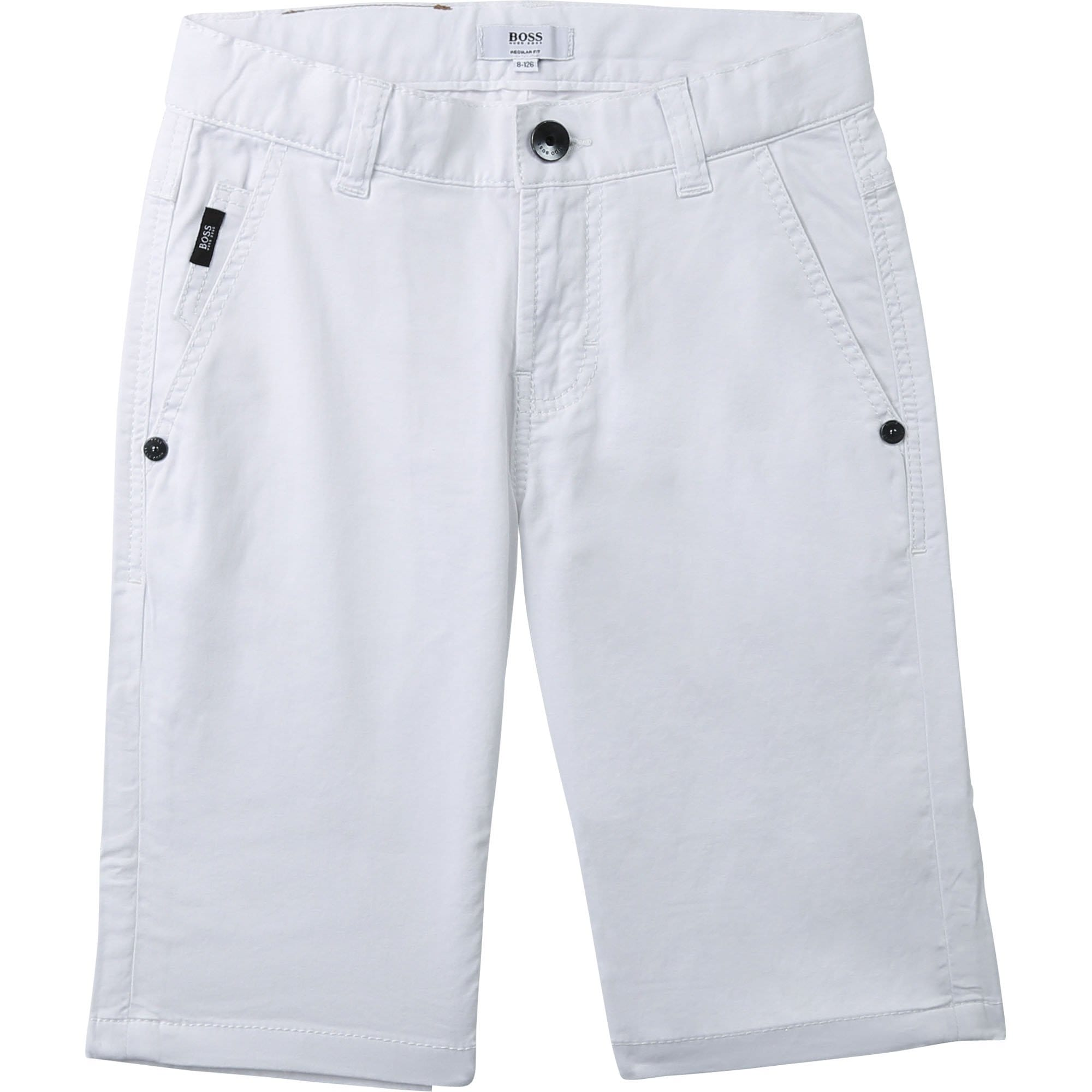 Hugo Boss Chino Shorts - White J24629/10B