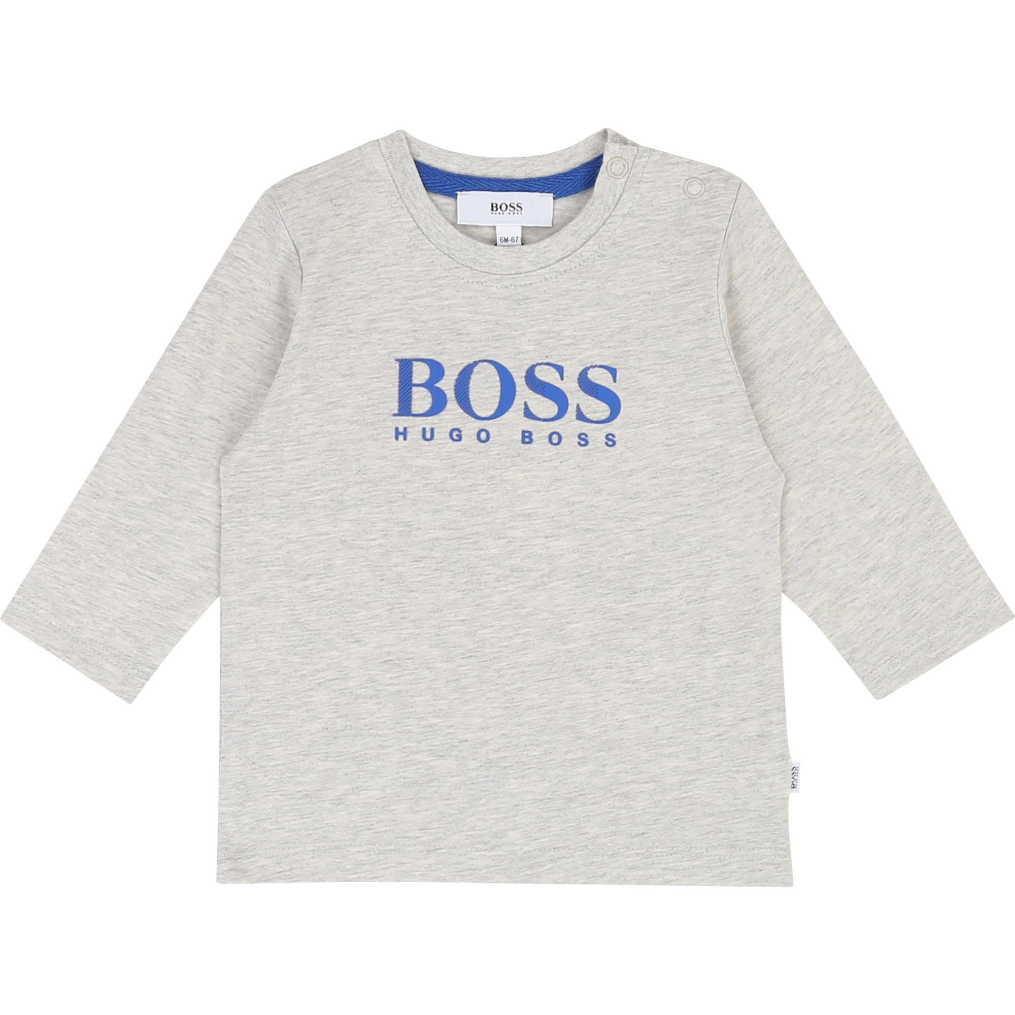 Hugo Boss Babies Long Sleeve T-Shirt (4702399299715)
