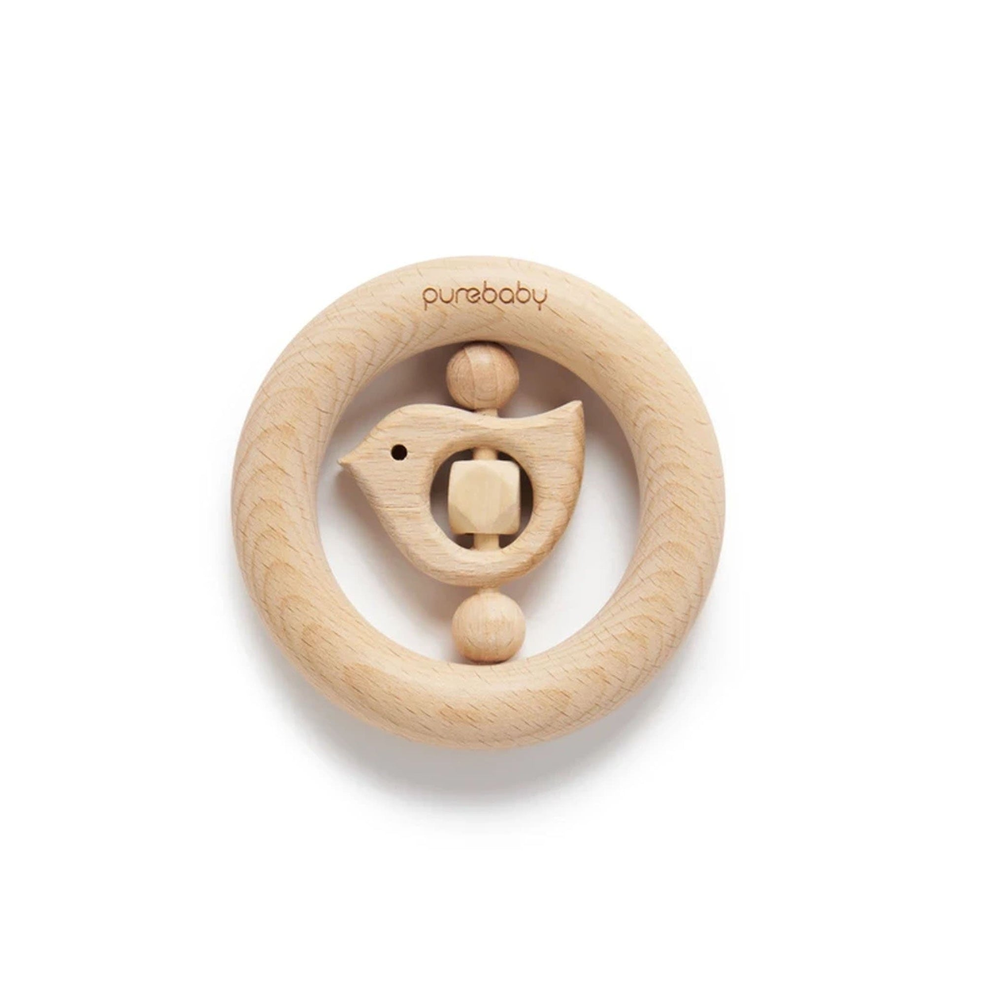 Pure Baby Birdy Teething Ring PY1005NS
