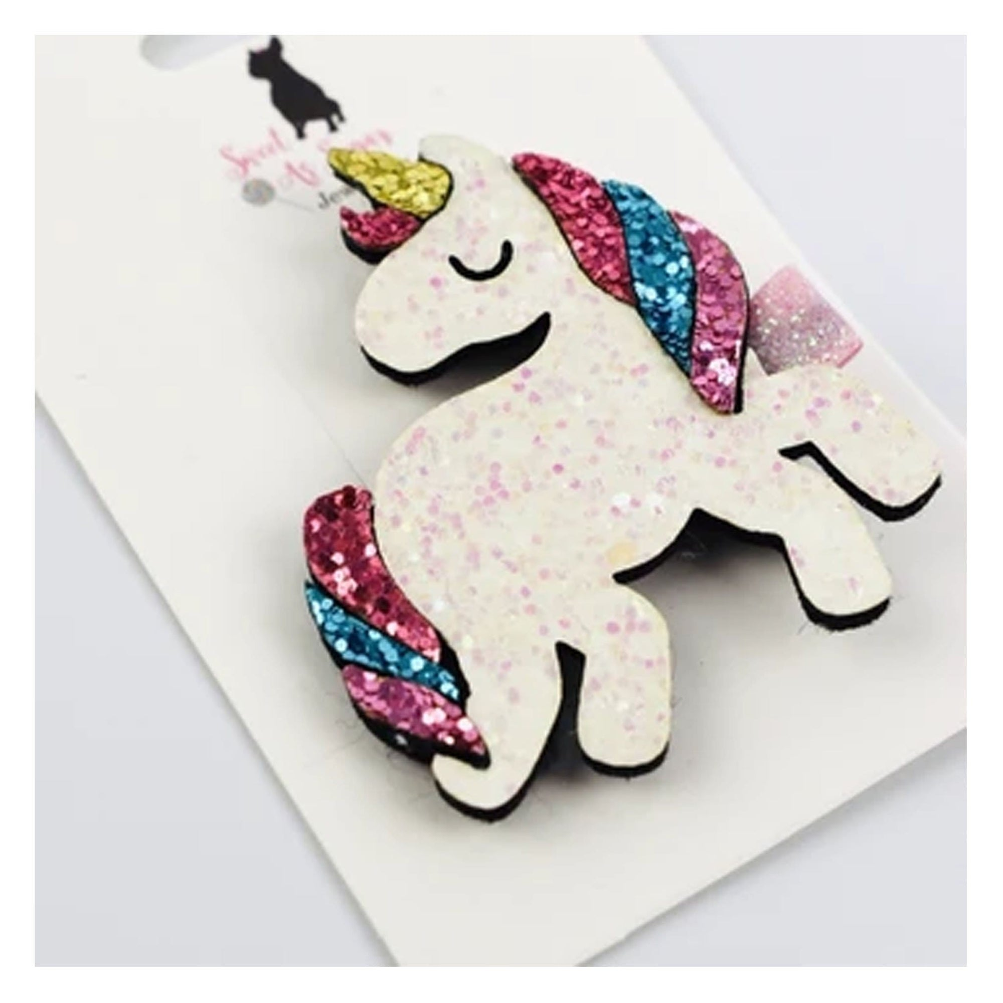 Sweet as Sugar Unicorn Hair Clip
