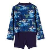 Milky Hawaiian L/S Swimsuit