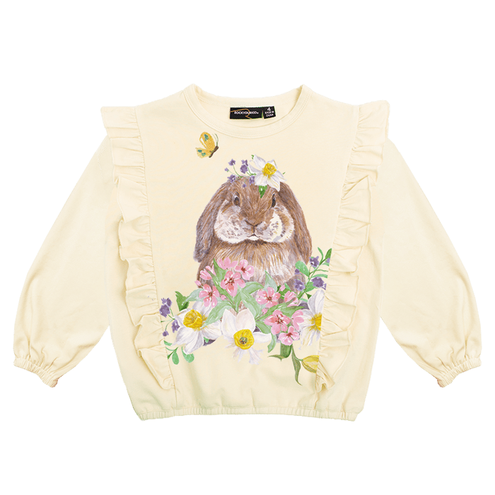 Rock Your Kid Bunny Blossom T-Shirt