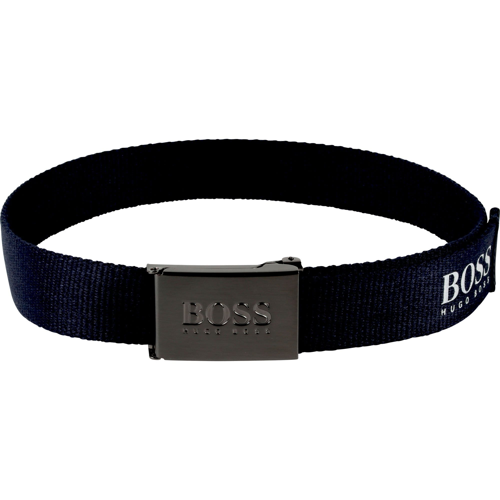 Hugo Boss Logo Canvas Belt J20258/849