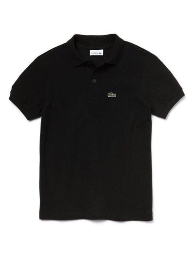 Lacoste Basic Kids Polo  Black (4684889849987)