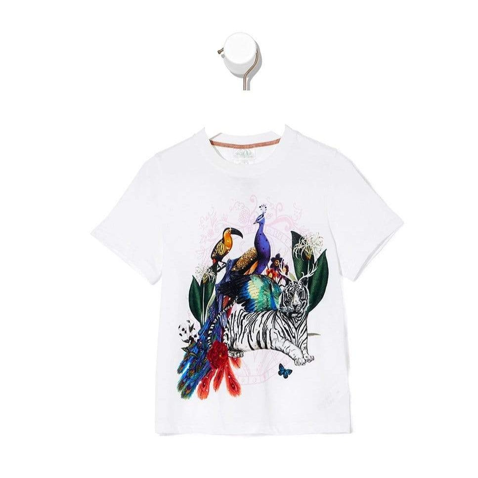 Camilla Gully Of Jupiter Kids Short Sleeve T-Shirt