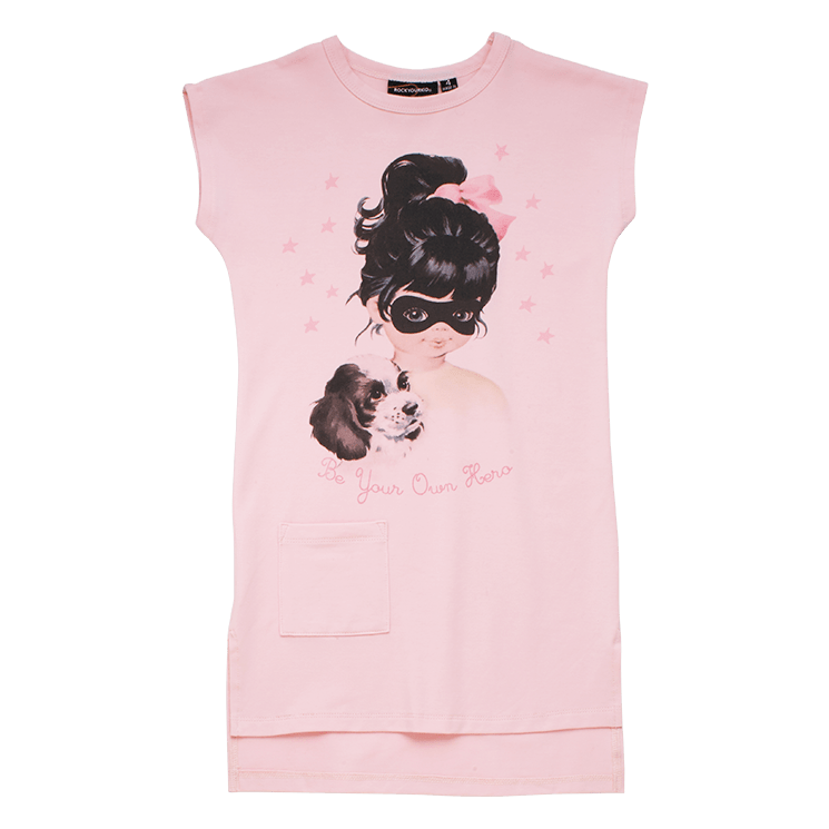 Rock Your Kid Be Your Own Hero - T Shirt Dress