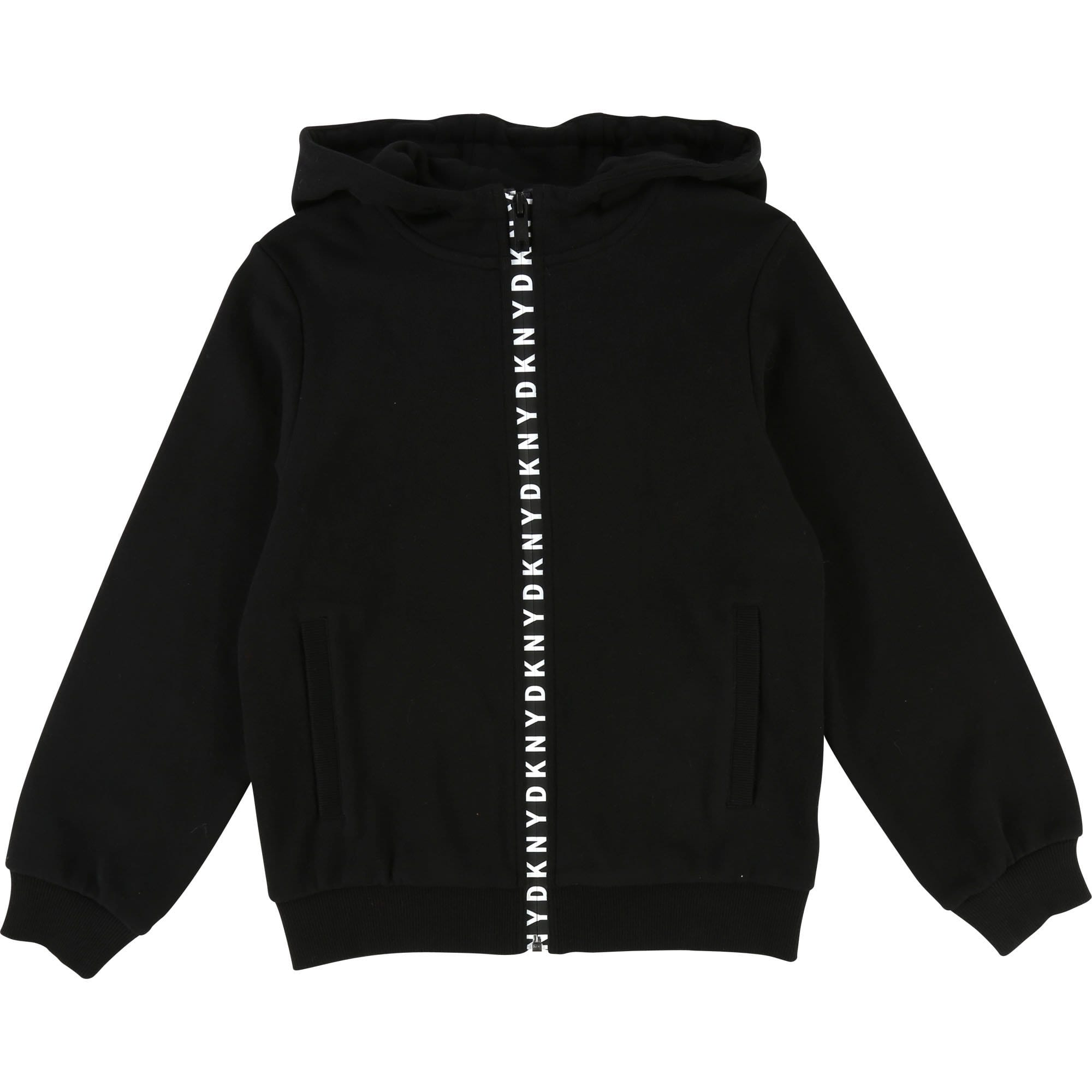 DKNY Hooded Zip Jumper (4716304564355)
