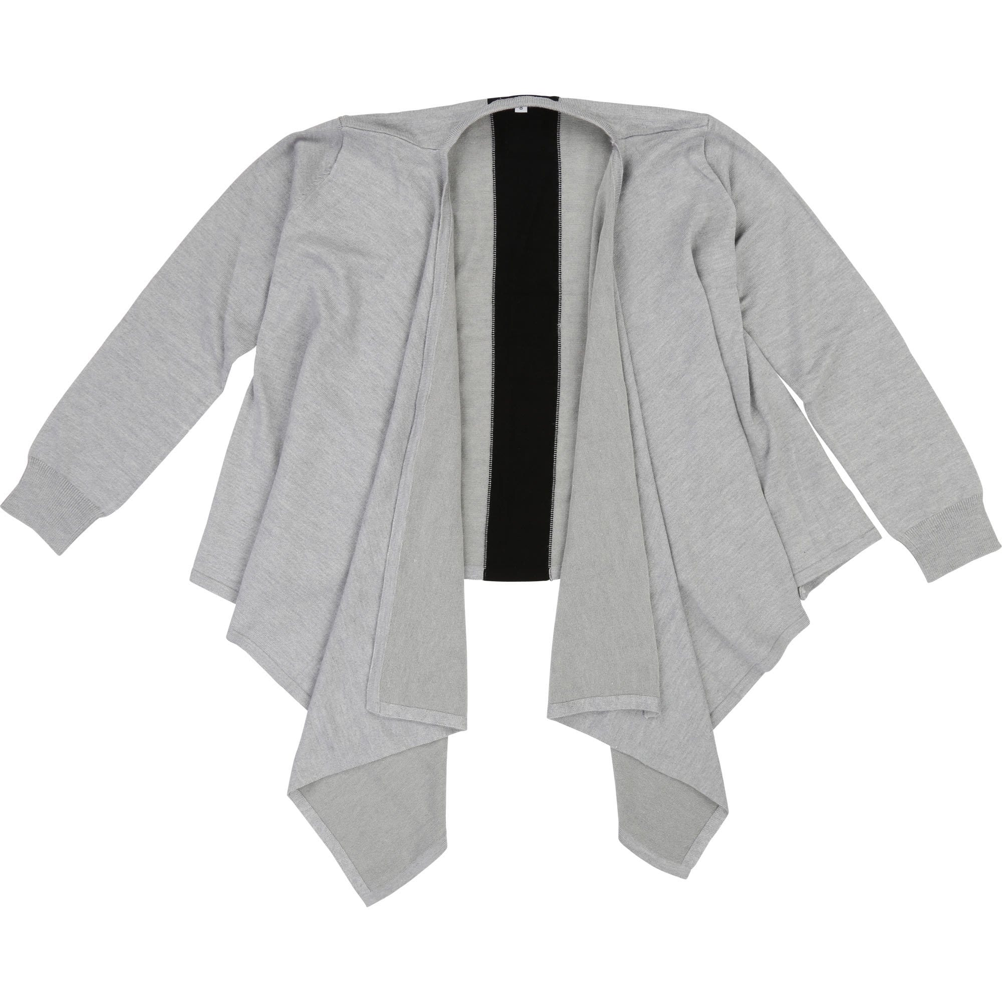 DKNY Knitted Cardigan Chine Grey D35Q13/A32 (4716740182147)